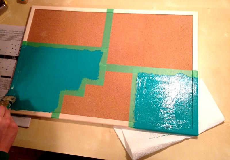 tableau en li ge color block rokia d core mais pas que. Black Bedroom Furniture Sets. Home Design Ideas
