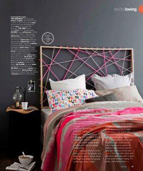 DIY-tête de lit corde fluo1